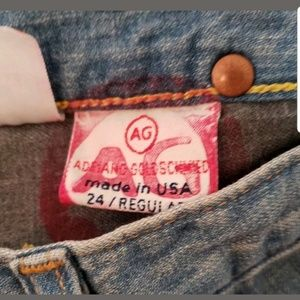Ag Adriano Goldschmied Jeans - AG Adriano Goldschmeid Womens Jeans Size 24 Angel